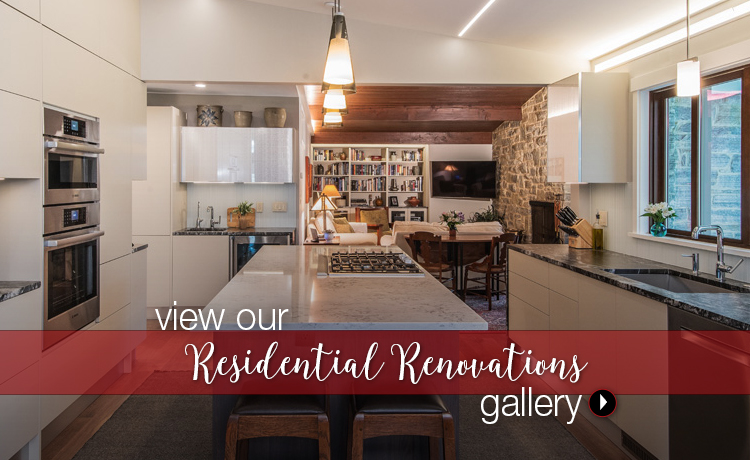 Visit our residential renovations gallery